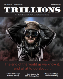 VOL. 1 ISSUE 6 SEPTEMBER 2016 of TRILLIONS