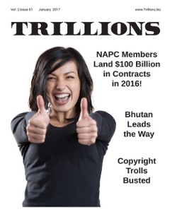 VOL. 2 ISSUE 1 JANUARY 2017 of TRILLIONS - The official publication of the North America Procurement Council